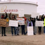 Enbridge blockade
